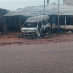 Several Cars Destroyed, 2 Persons Killed In Nnewi Over The IPOB Sit-At-Home Order