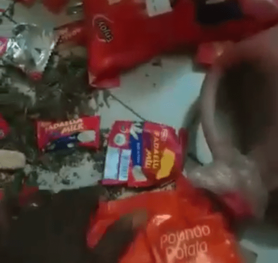 Nigerian man uncovers illicit drugs concealed in food items given to him to deliver in Dubai (video)
