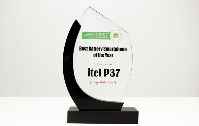 itel P37 wins 'Best Big Battery Smartphone of the Year' At BoICT Awards 2021