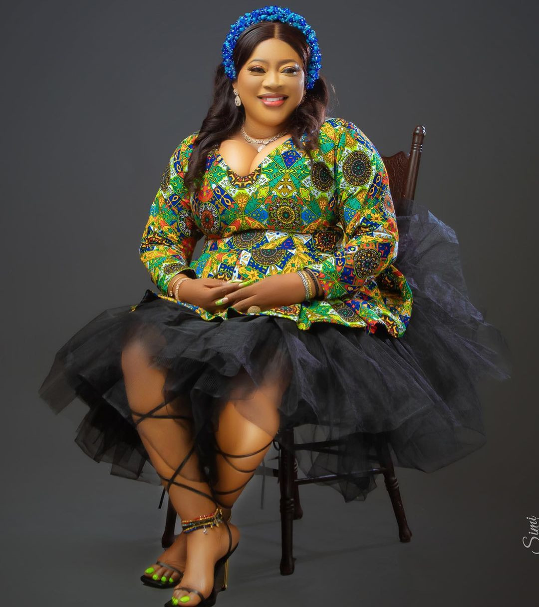 Actress Ayo Adesanyo releases new photos as she turns 52