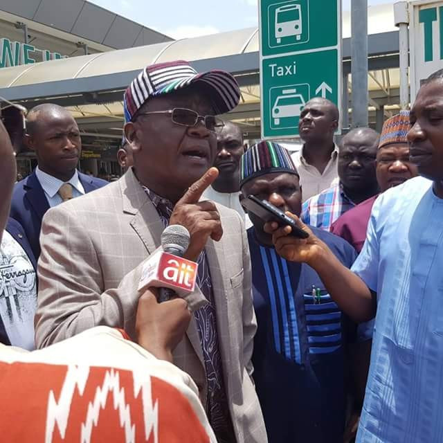 Anyone that comes to rig election in 2023, should say his last prayer - Governor Ortom