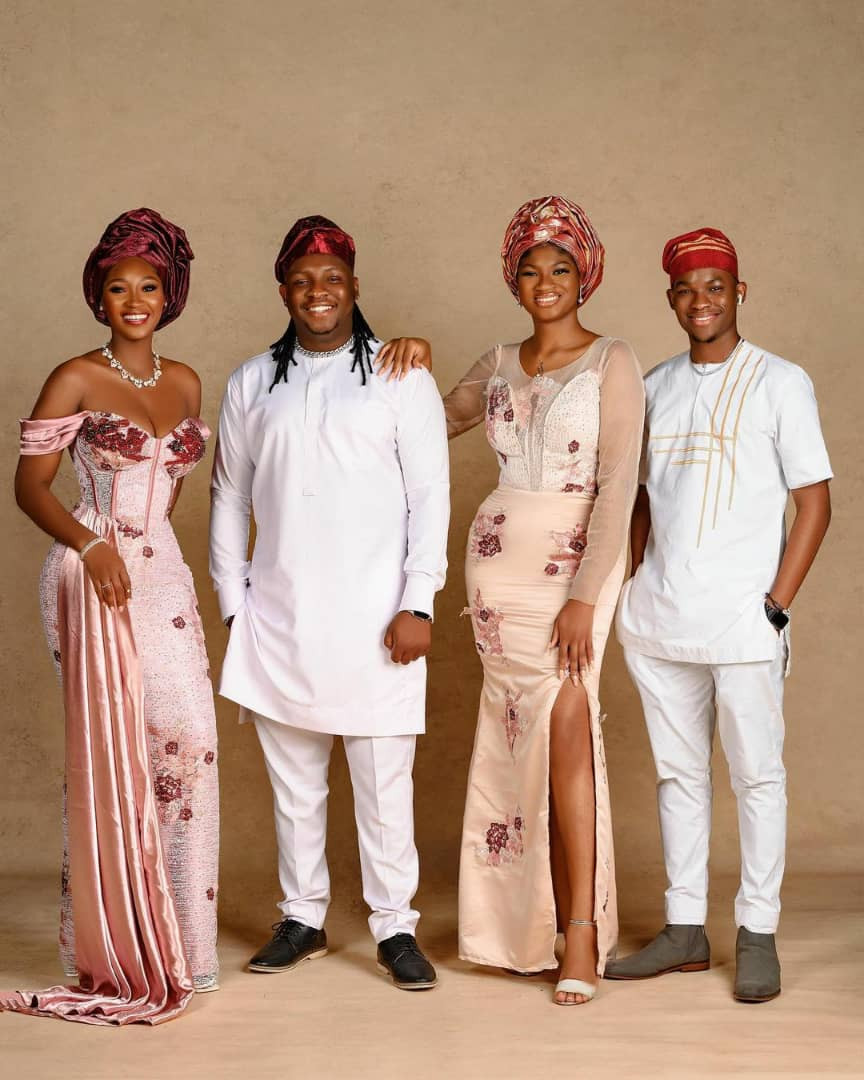 Lovely photos of actress Omotola Jalade-Ekeinde and her children