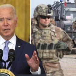 Joe Biden blames Trump for Afghanistan's collapse to Taliban