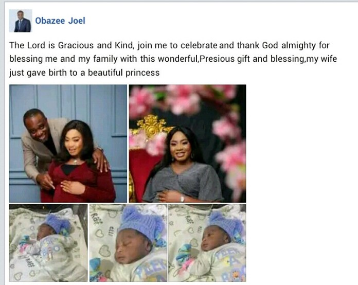 Nigerian pastor and wife welcome a baby after 13 years of waiting (videos)