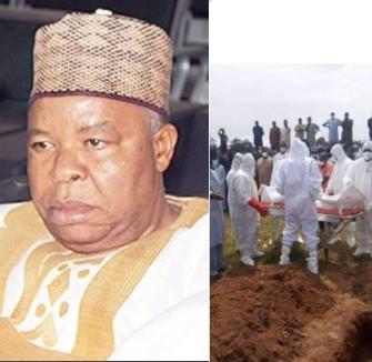 Ex-deputy Senate President Mantu Buried In Abuja (photos)
