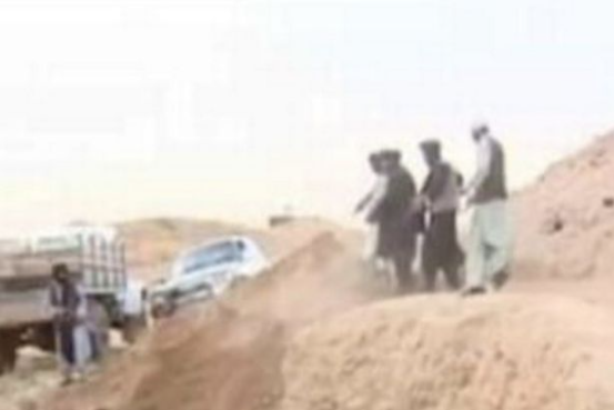 Taliban thugs murder victims and dump bodies in mass graves despite promising peaceful transfer of power (photos)