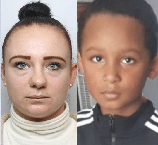 Mum jailed over death of son she left at home alone while she visited her boyfriend