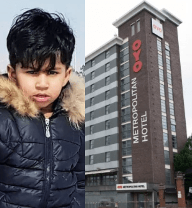 Afghan boy, 5, who fell to his death from hotel window after fleeing the Taliban is pictured for first time