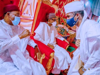photos of the wedding of President Buhari's son, Yusuf