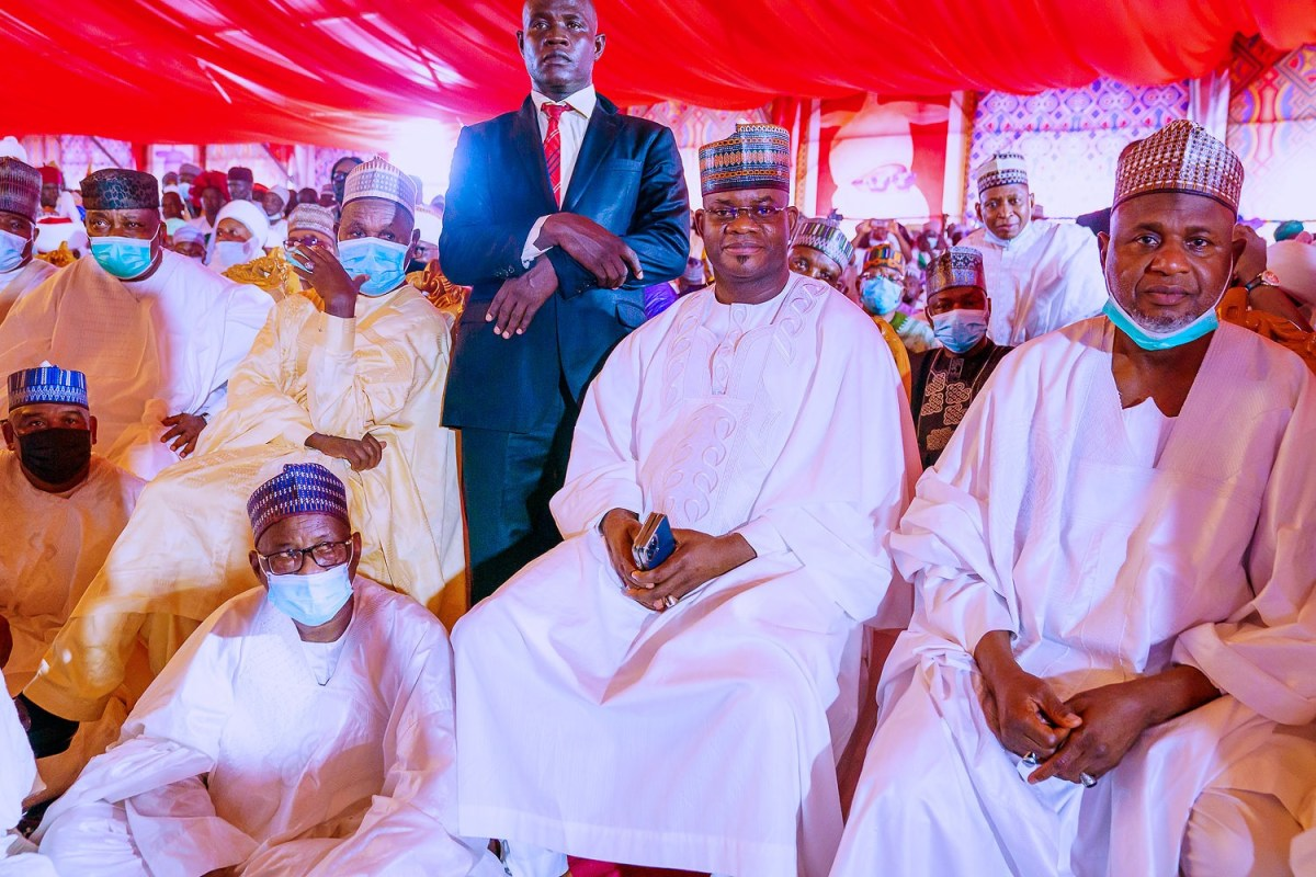 More photos of dignitaries at the wedding of President Buhari
