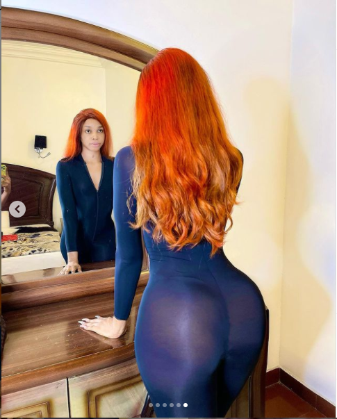 Crossdresser, Jay Boogie showcases his curves in new ?revealing photos