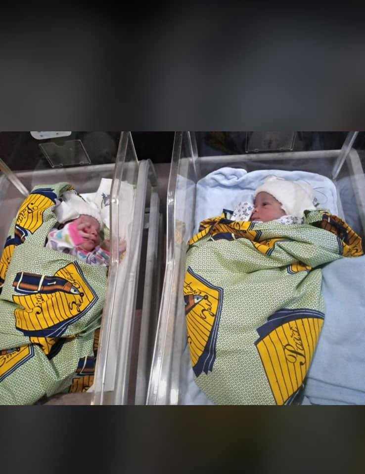 Imo traditional ruler and his wife welcome twins after 15 years of waiting