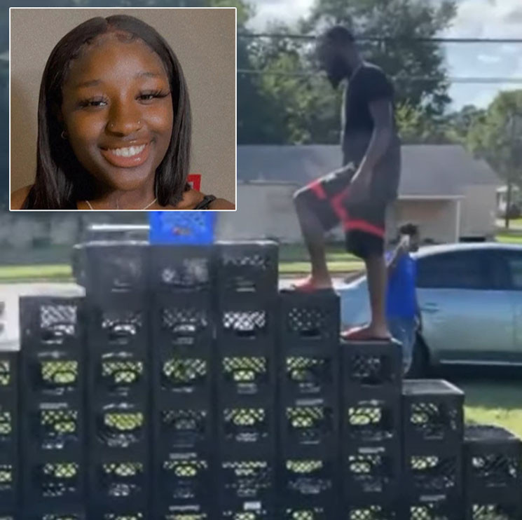 Teen girl and two others shot dead while filming a crate challenge video on social media (video)