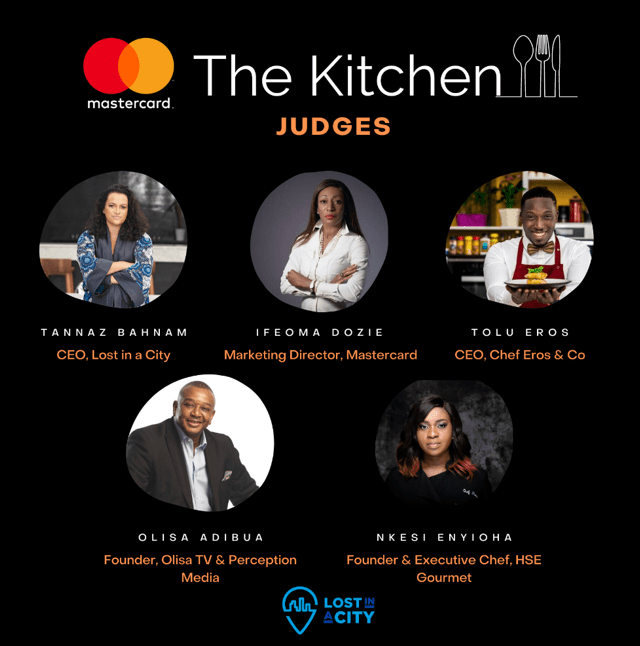 Lost ina City, Mastercard Launch New Programme - The Kitchen
