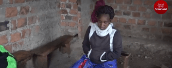 Kenyan man pours hot tea on wife