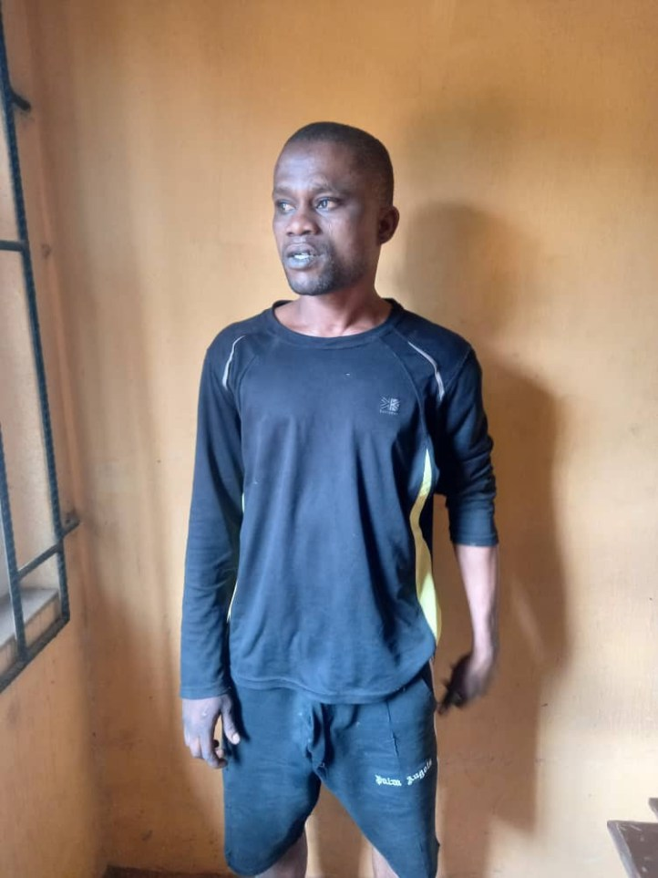Man in police net for allegedly raping woman in Ogun (photo)