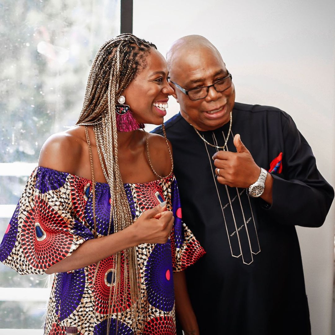 Actress Yvonne Orji buys her father a car ahead of his 80th birthday (videos)