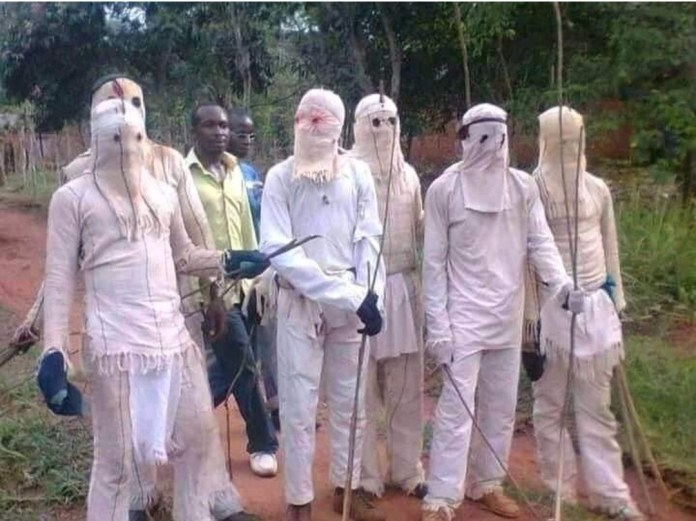 Masquerades surface in Nsukka to enforce sit-at-home order despite suspension