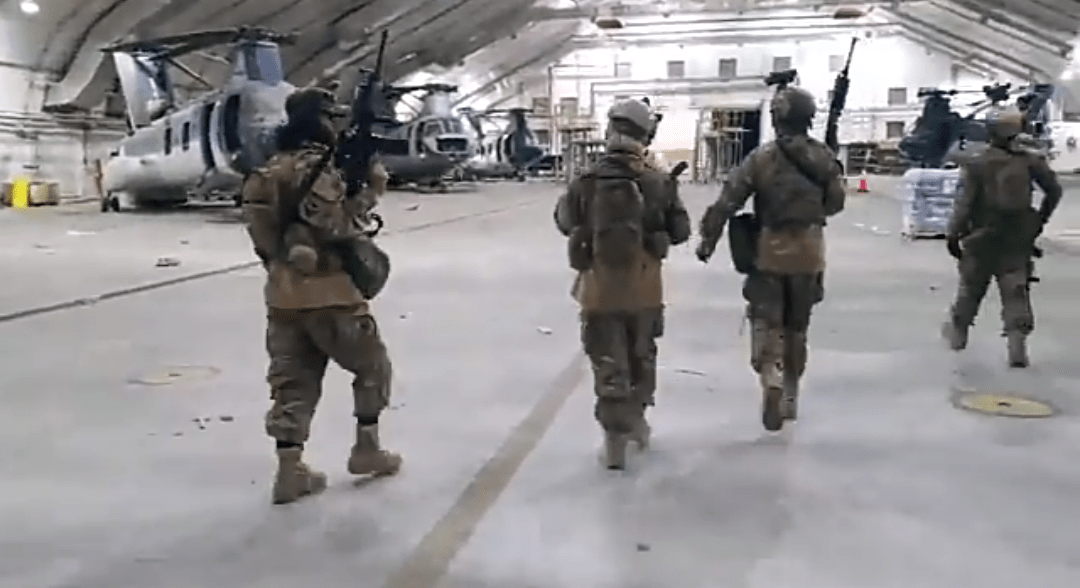See what Taliban did moments after last US plane departed from Afghanistan (Video)
