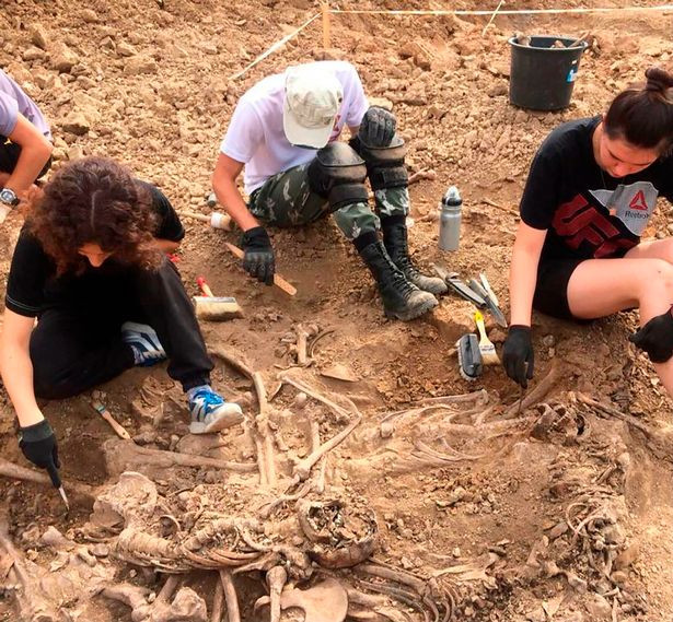 Hitler?s ?death quarry? where Nazis massacred kids, unearthed in Russia