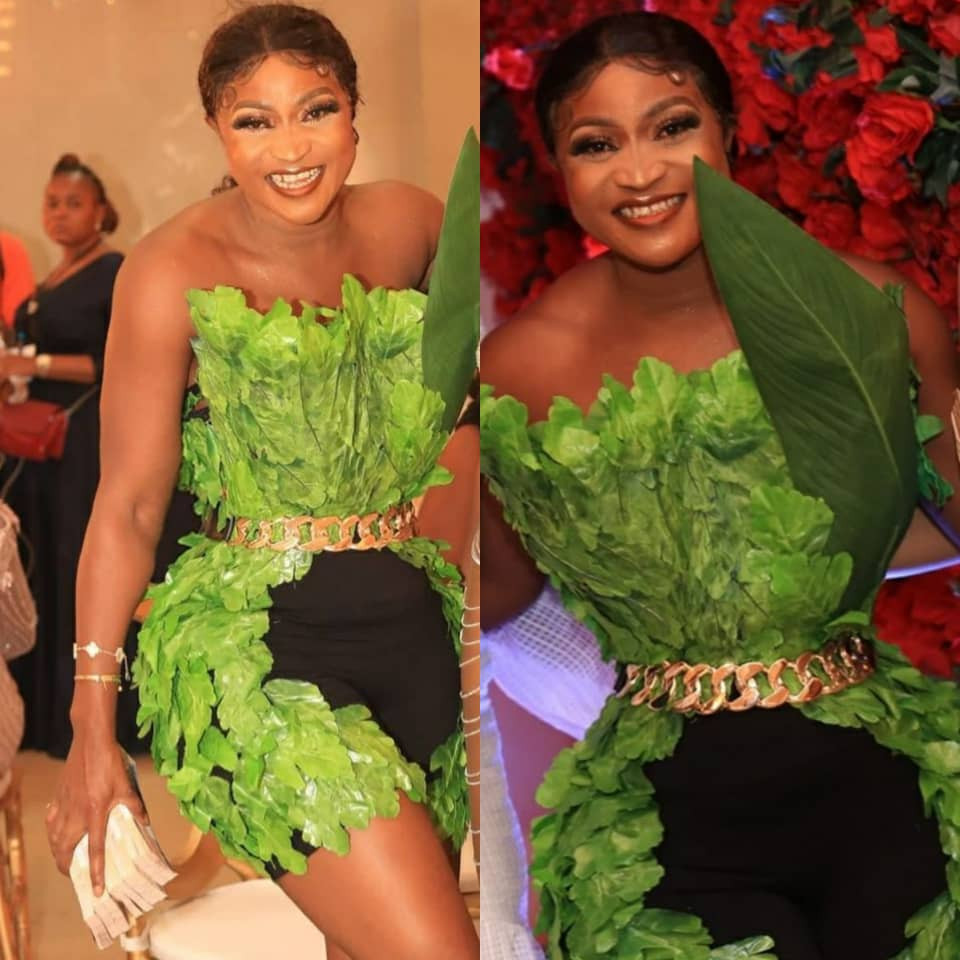 See the outfit fashion designer, Luminee, wore to Bobrisky