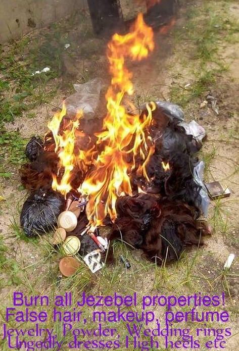 Nigerian evangelist burns woman