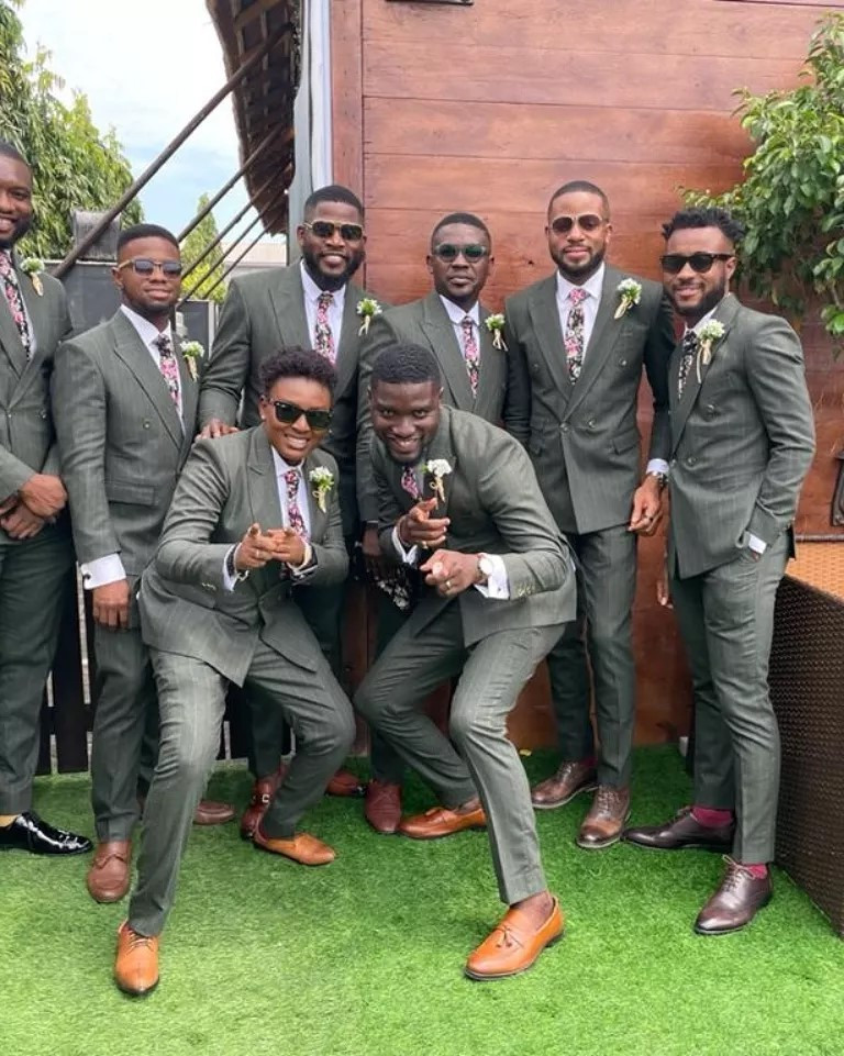Stan Nze Marriage Pictures