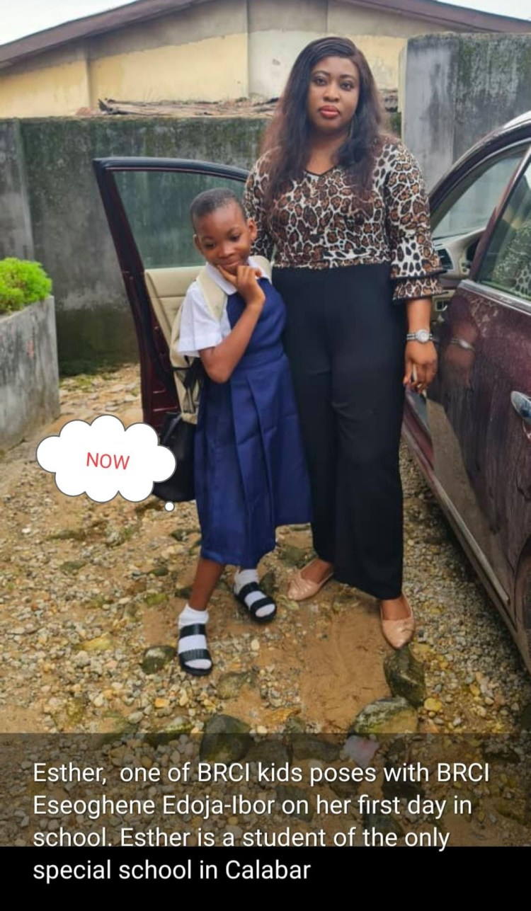 11-year-old girl found almost lifeless on the road in Calabar after allegedly being accused of witchcraft and thrown out by her grandmother
