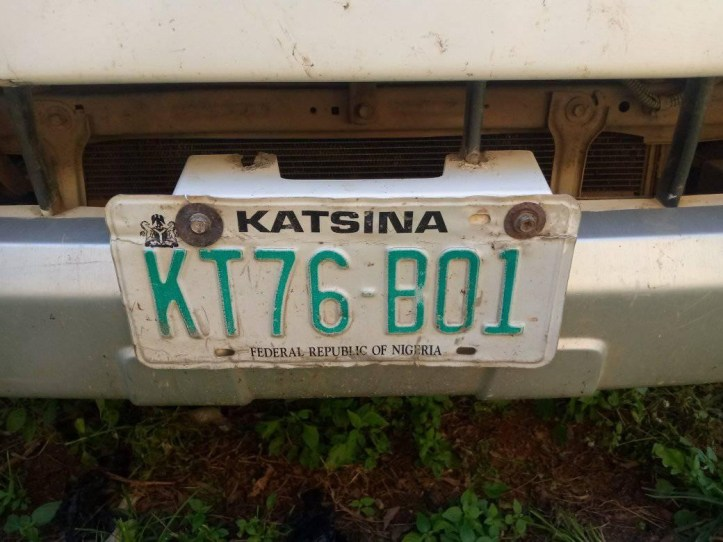 Suspected notorious thief arrested for stealing Katsina State Govt vehicle