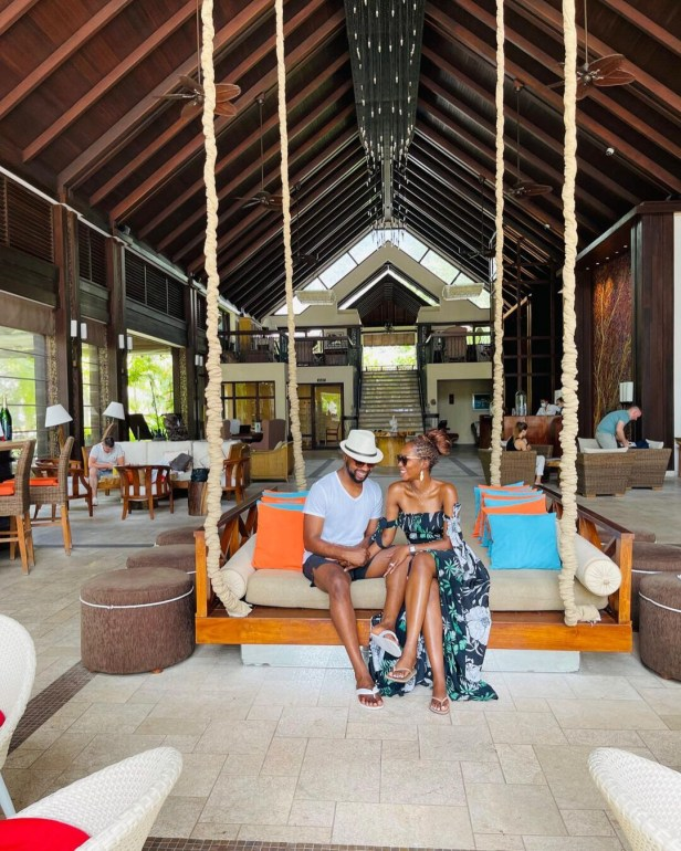 Media personality, Debola Williams and wife spend their honeymoon in Seychelles