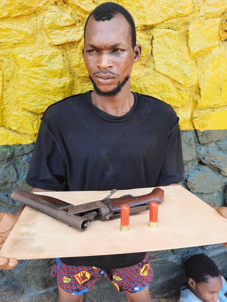 Police arrest two suspected robbers, cultists in Delta, recover arms