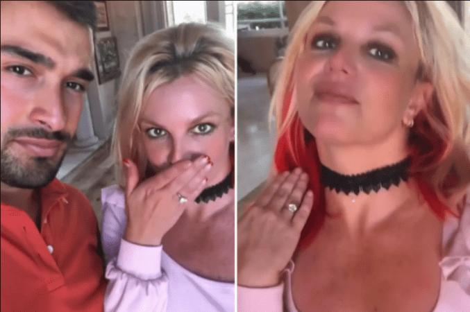 Britney Spears goes off Instagram as she takes social media break to celebrate engagement