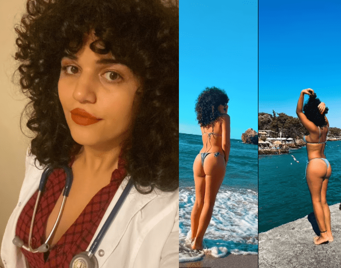 Transgender Turkish doctor is struck off by the Health Ministry for 'offending public morality' by posting bikini pictures on social media (Photos)