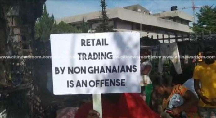 Ghanaian Trade Union locks up foreigners