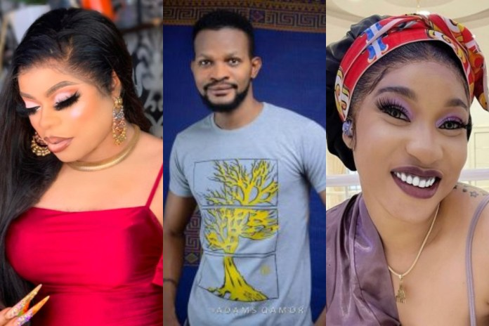Tonto Dikeh never asked you to do wahala with Rosy. You did all that to chase clout - Uche Maduagwu tells Bobrisky