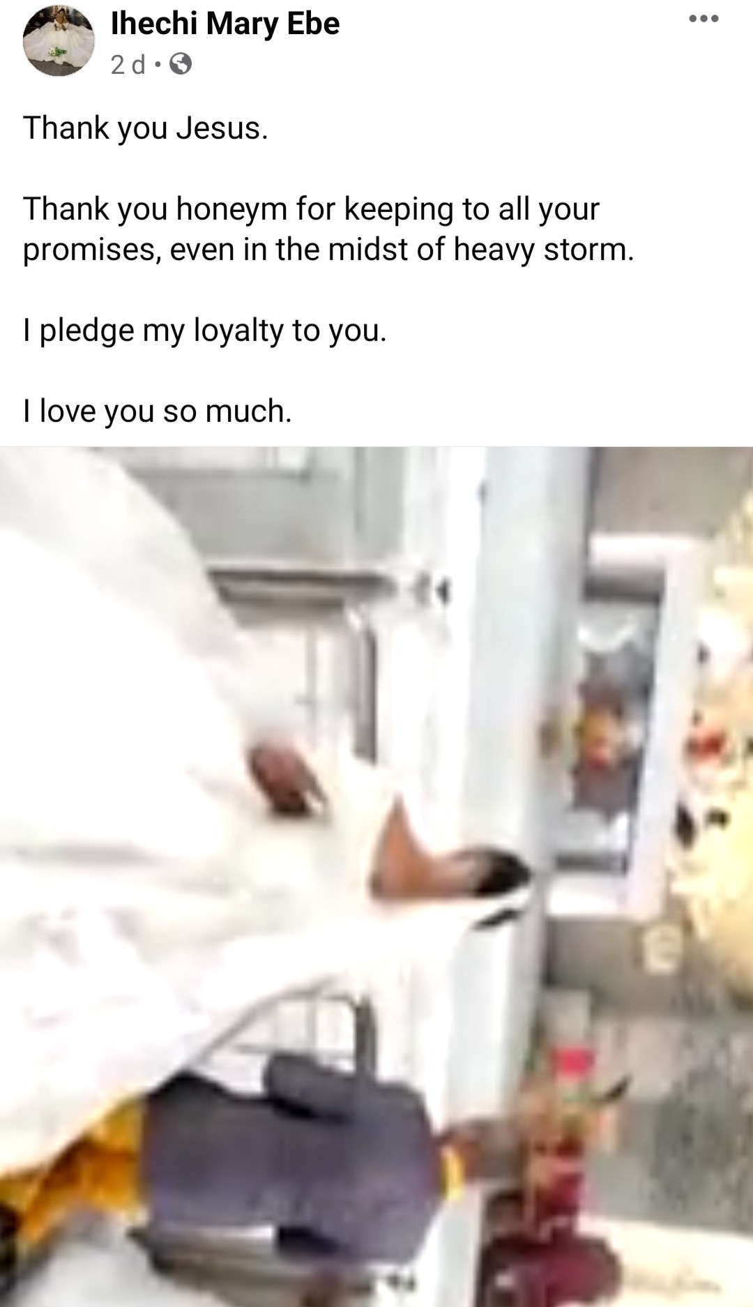 Newlywed virgin shares photos of blood-stained bedsheet as she calls out her exes who abandoned her for refusing to have sex with them