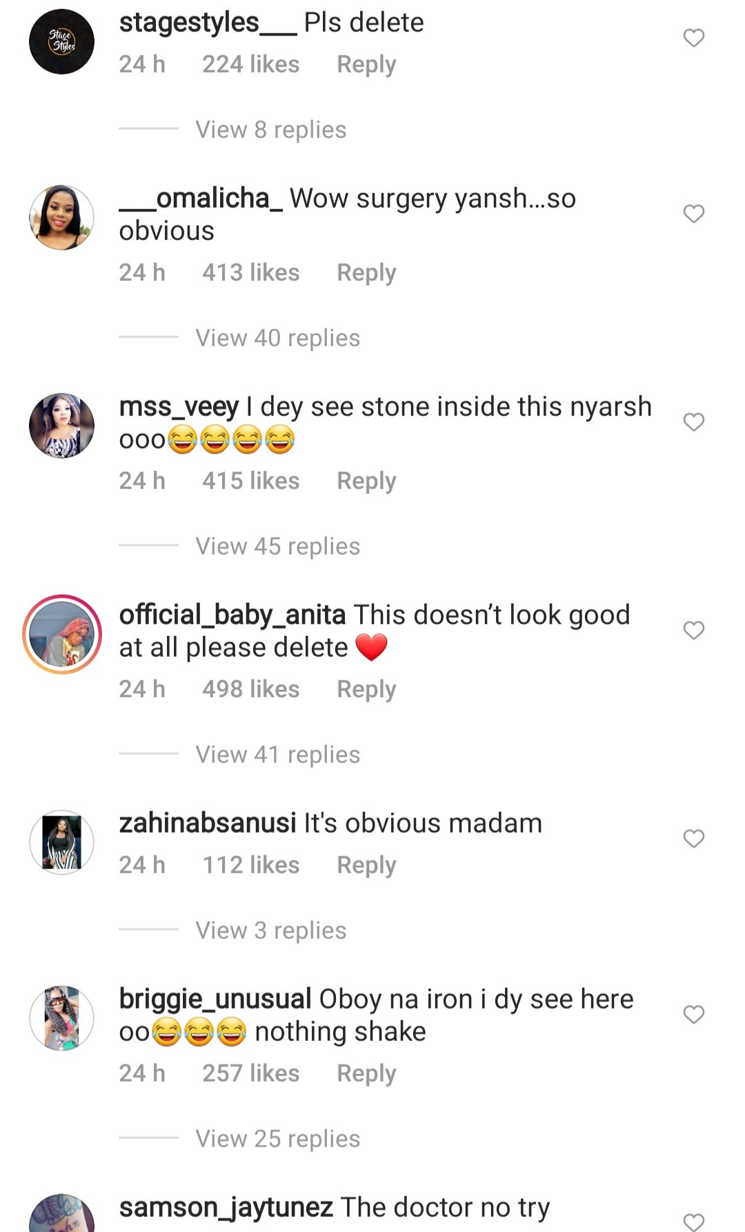 """""""The doctor no try"""" IG users react as Ka3na shows off her bum in new video"""