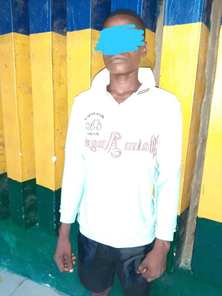 Man arrested for allegedly sexually assaulting minors in Lagos