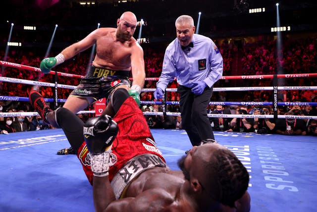 Tyson Fury knocks beat Deontay Wilder to retain WBC and Lineal Heavyweight titles
