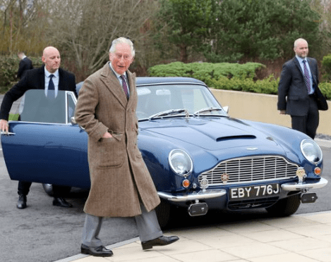 Prince Charles has a car that runs on cheese and wine