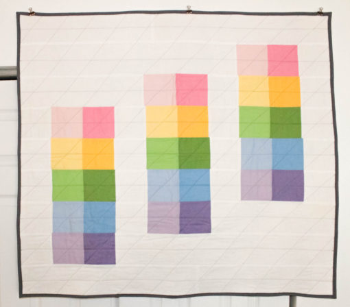 Steps of Color Quilt