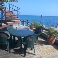 steps patio island paradise jamaica