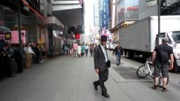 amish jewish man travel new york city