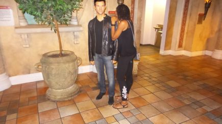 taylor lautner new york travel jamaican with dreads