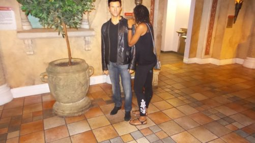 Taylor Lautner - Alexis Chateau - Wax Museum - NYC