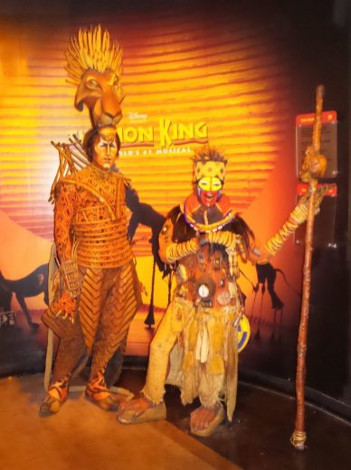 Lion King - Wax Museum - New York