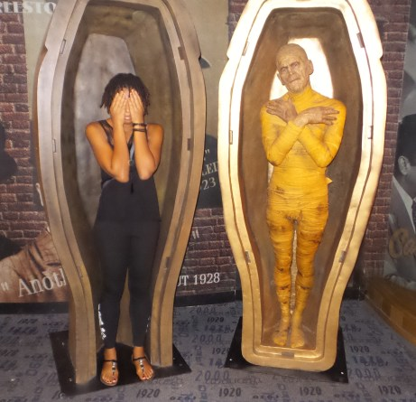 mummy egyptian new york travel jamaican with dreads