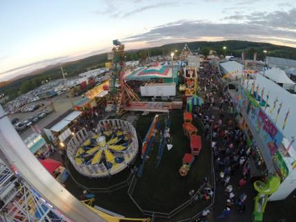 ferris wheel county fair travel pennsylvania new milford
