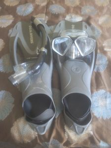 snorkelling gear adventure