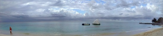 panoramic shot cornwall beach jamaica montego bay travel